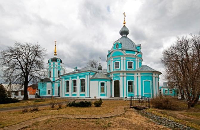 Храм Архангела-Михаила <br />Московская область,<br /> с. Летово