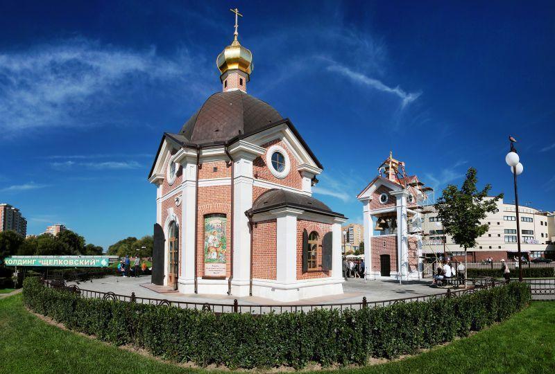 Храм Серафима Саровского <br />Московская область,<br /> гп. Щелково